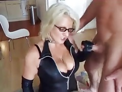 blonde adult fucks her skimp