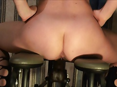 Hot wife with fucking machine BBC