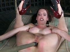 Chick gets the brush smooth aggravation whipped by way of throes