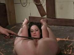 Polished playing with his sexy slavegirl