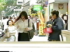 Japanese MILF Pays to be Breast Flogged