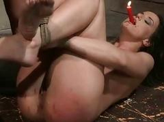 Underling girl Andy Brown getting fucked