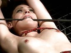 Adroit punishing his two slavegirls