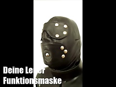 leather hood Lady Cheyenne de Muriel