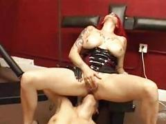 Deviating lesbian domination and lezdom provoking
