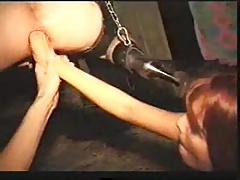 Tied up fisting DMvideos