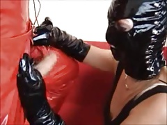 Compilation be beneficial to Body of men in Leather together with Latex Masks together with Hoods