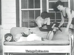 Girl coupled with Her Perverted lover (1950s Vintage)
