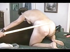 Slut Ann gets her asswhipped