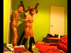 webcam dabbler kinky BDSM couple