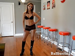 Your ballbusting humiliation starts now