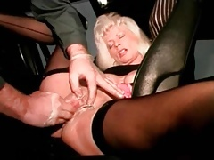 I am pierced mature floozy to pussy piercings fisted