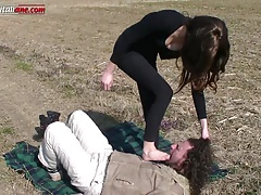 First Time be proper of Alana - Outdoor Low Fetish Domination