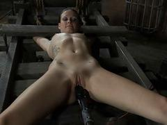Predestined up beauty receives tongue and facial agony