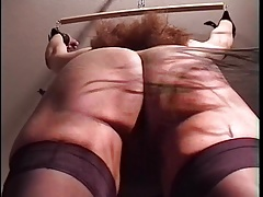 Short Ass and Pussy Castigating