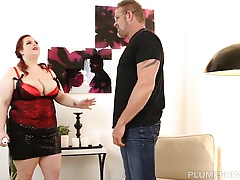 BBW Jordynn Luxxx Get Spanked and Fucked at the end of one's tether Stepdaddy Tony D