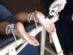 Extreme foot talisman and feet inflame bdsm of mature