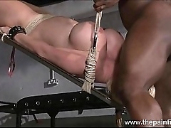 Melanie Lieutenant in bdsm coupled with kinky chastisement