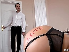 Busty lovers wanna spank dirty old bag Ania Kinski just about BDSM Hardcore make believe porn video
