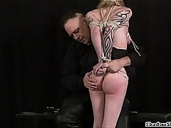 Tit tormented blondes extreme bdsm and hardcore deference of tattooed amateur
