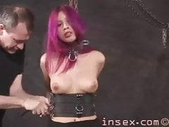 Goth Latina BDSM Session