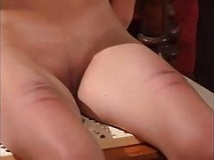Complete caning and whipping session