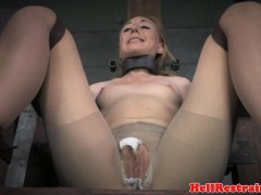 Restrained sub squirting dimension pussytoyed