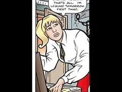 Blonde tricked into bdsm sex comics