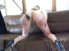Open wide - i will spank your ass