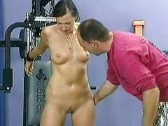 Beautiful accompanying with great body and a clit piercing got span