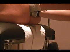 double formerly larboard anal by mistress for first time