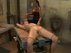 Mandy Bright effectuation with sexual relations slave