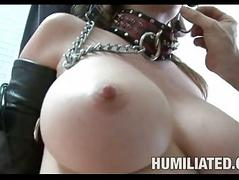 Erotic hot June Summers gets her mouth choked with a massive errect load of shit