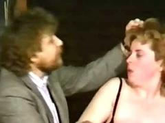 Adroit hits slave on her tits and pulls her hair and force h