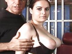 Punishment on fond titties