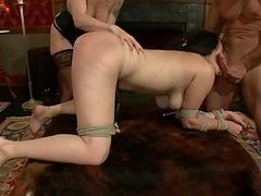 Well-known tits submissive housewife