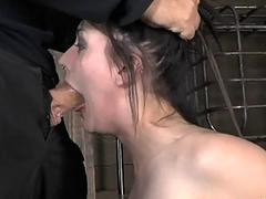 Brutal beating be expeditious for babes bottom