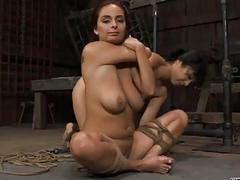 Sexy torment for loved slaves