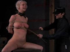 Restrained dreamboat is punished