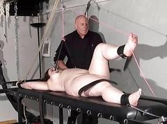 Chubby torture putting an end to punishment of dabbler slave