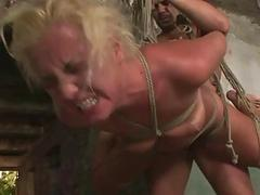 Hot sexslave gets punished and fucked