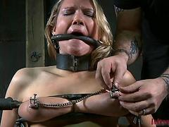 Slave gets vicious drilling