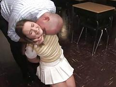 Girl punished by husband and botch
