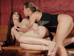 Spectacular sex slave gets anal fucked