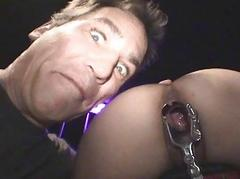 Dungeon Dominated Bitch Electro Probed!