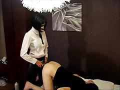 Sadistic Ass Training off out of one's mind White Widow