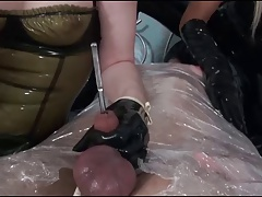 gentlemen in latex and sounds