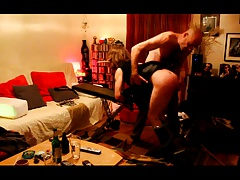 Real hard pain...No mercy for my concomitant slut!