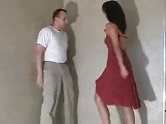 Ballbusting Gall in red